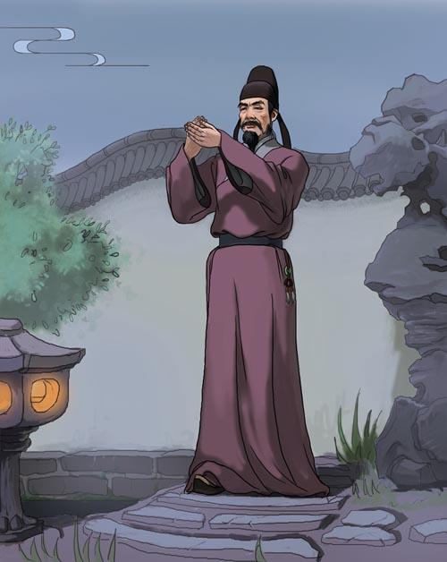 張九齡被貶至外地期間,遙望夜空,仍憂心大唐朝政,望唐玄宗勵精圖治。