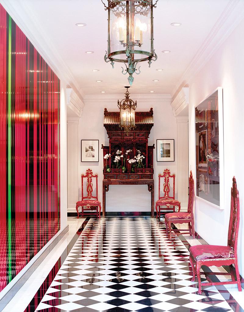 由Ann耗時兩年多設計的一處位於舊金山的居所,內有精美的18世紀威尼斯椅子和17世紀中國供桌。