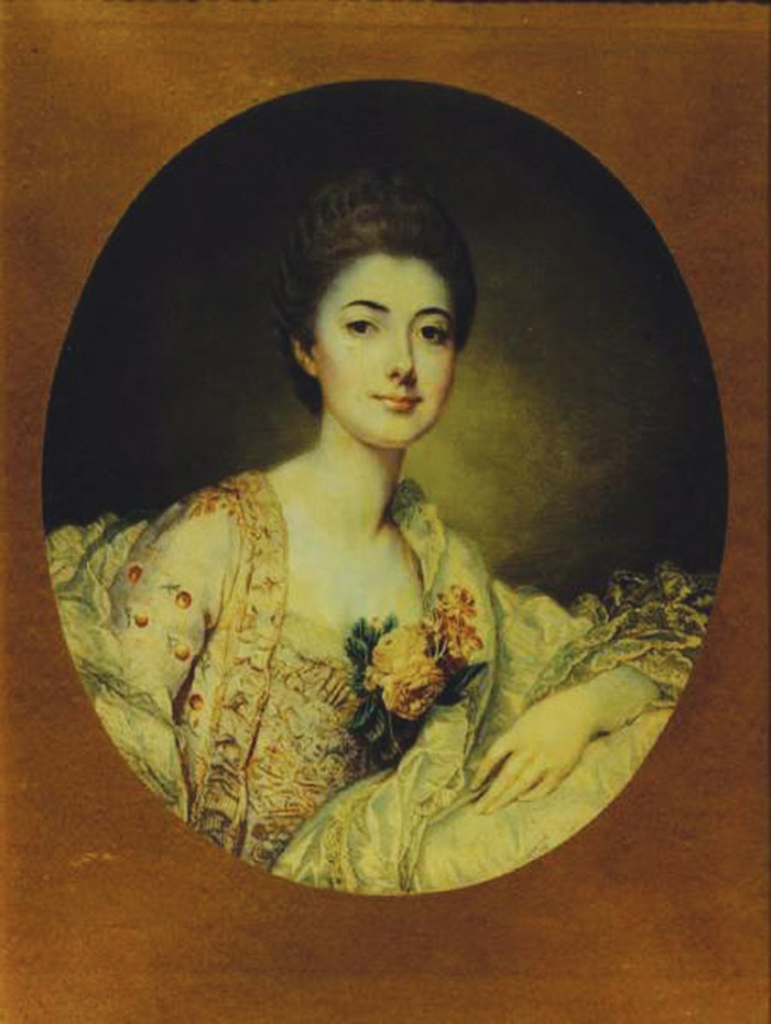 Choiseul公爵夫人Louise-Honorine de Crozat,一位18世紀的法國女繼承人。
