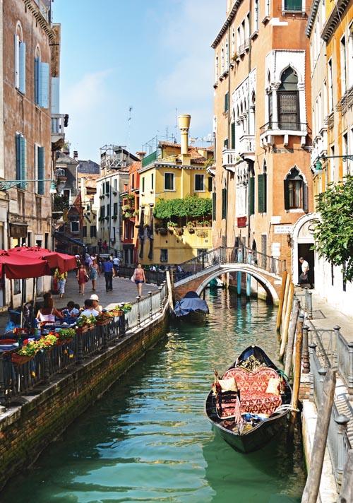威尼斯的每一處都如一副令人身臨其境的畫