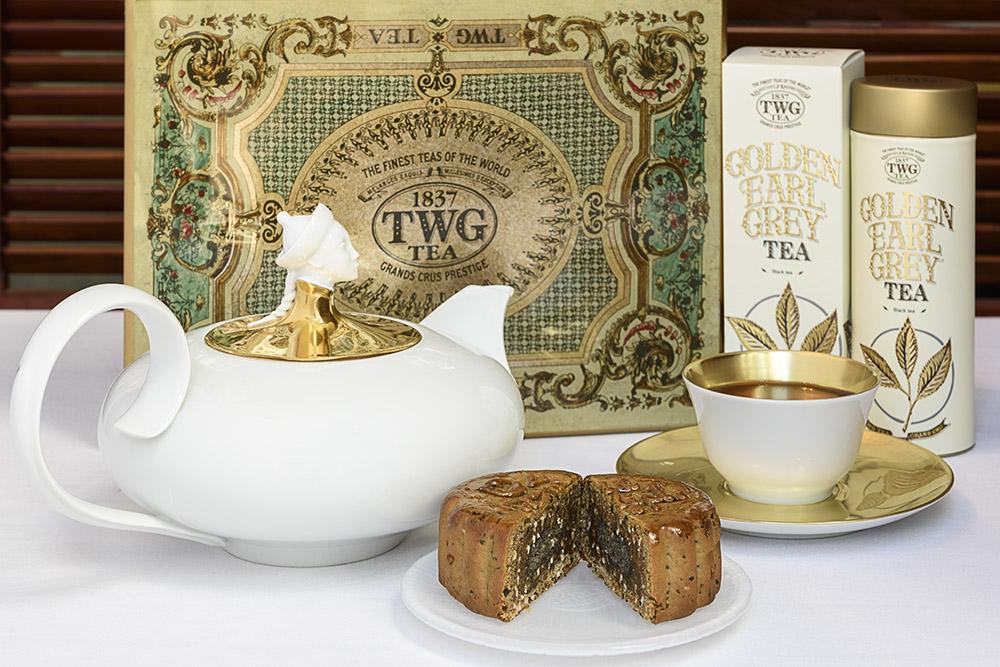 佛手柑的清香更加烘托出果仁餡月餅的馥鬱,與傳統的伯爵紅茶相得益彰。