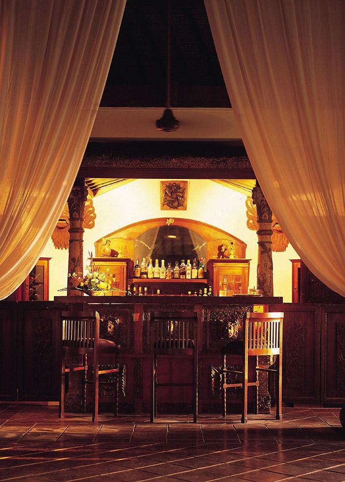 靜謐典雅的Walter Spies Pavilion是向二十世紀早期爪哇裝飾藝術的致敬之作。它的裝飾靈感來自曾在印尼定居的傳奇德國詩人和藝術家Walter Spies。