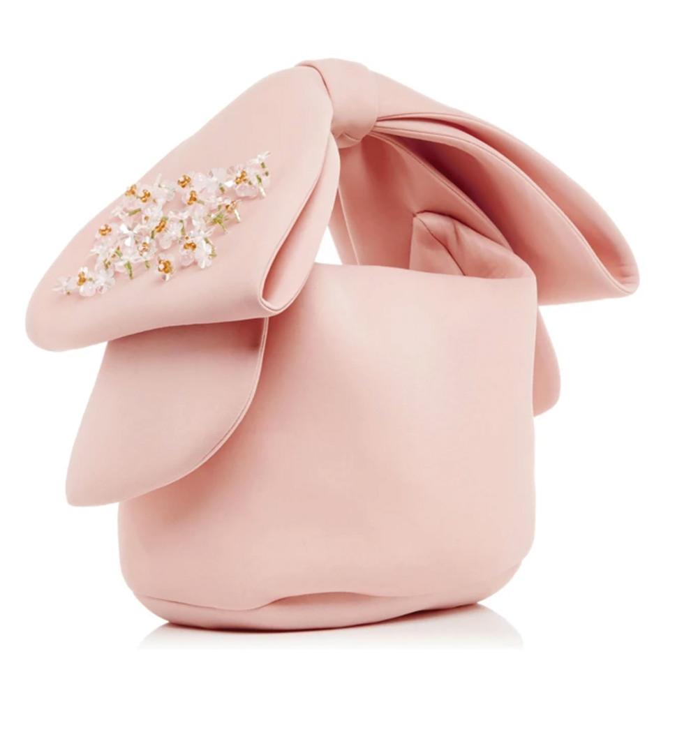 西蒙娜‧羅莎蝴蝶結裝飾手包  $877