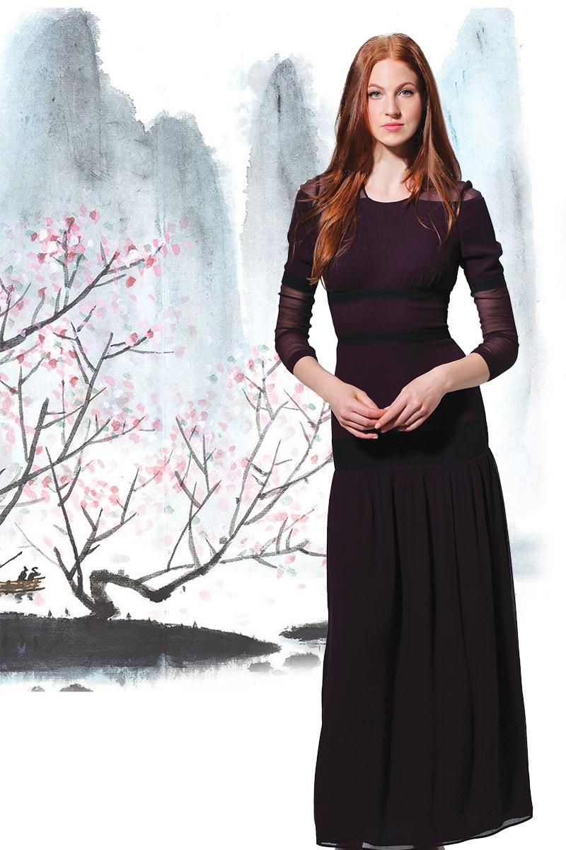 巴寶莉 蕾絲連衣裙$1,925