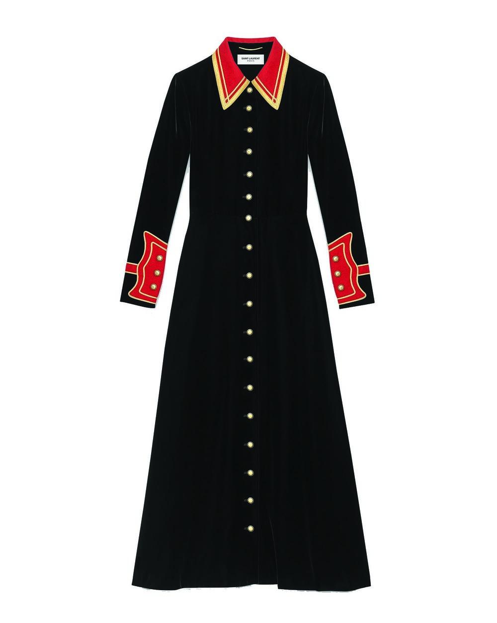 伊夫.聖羅蘭對襟連衣裙 $7,263
