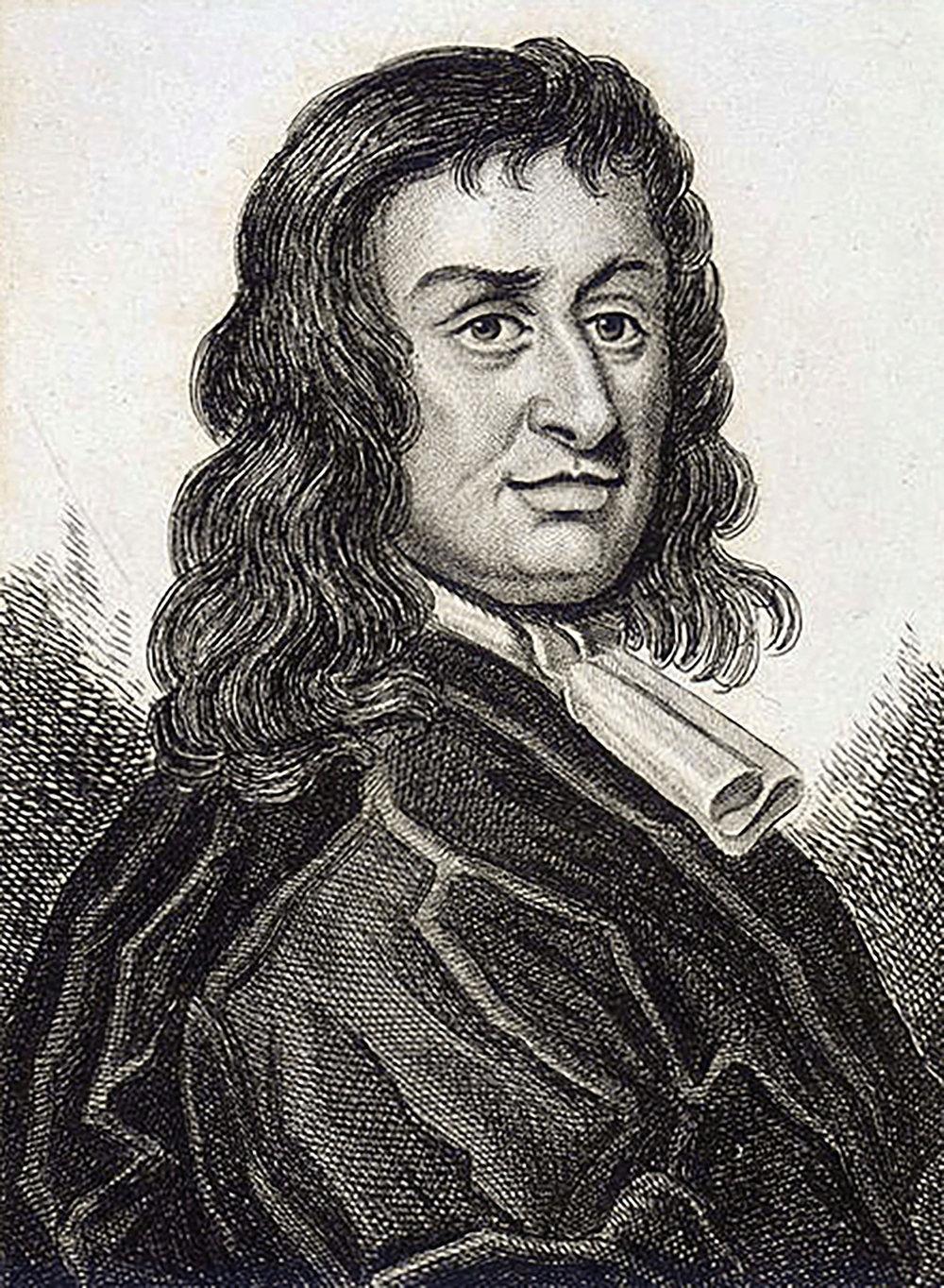 Colonel Thomas Blood 1671年曾試圖盜走英國國王的皇冠;Wikimedia