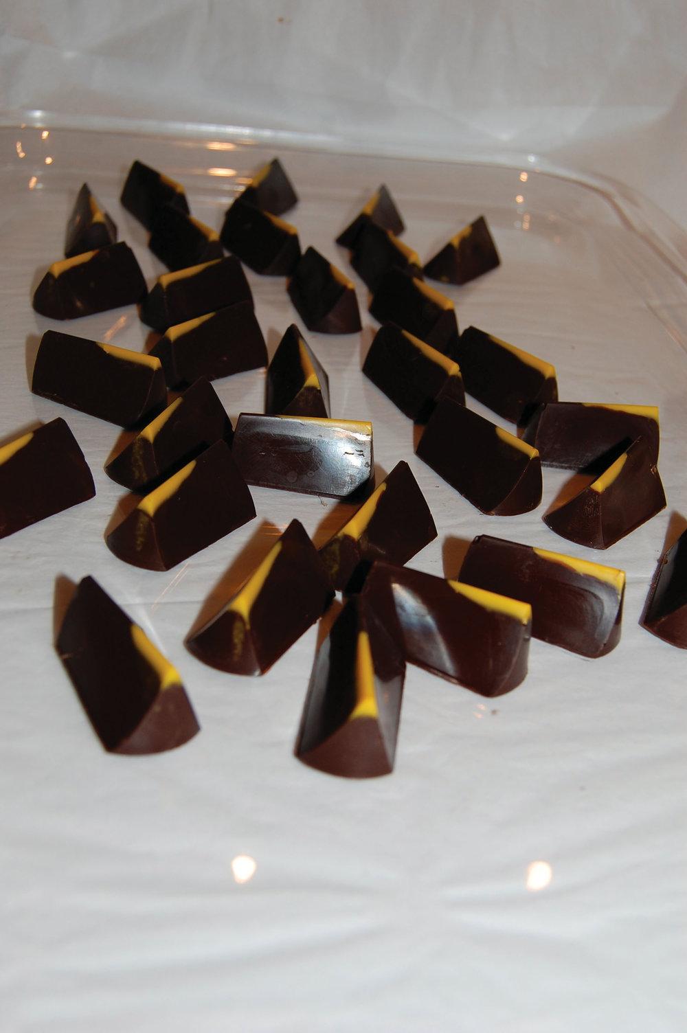 Koko Monk製作的巧克力,儘量減少對可可豆的現代加工,甚至連白糖都不放。Photos courtesy of Koko Monk Chocolates