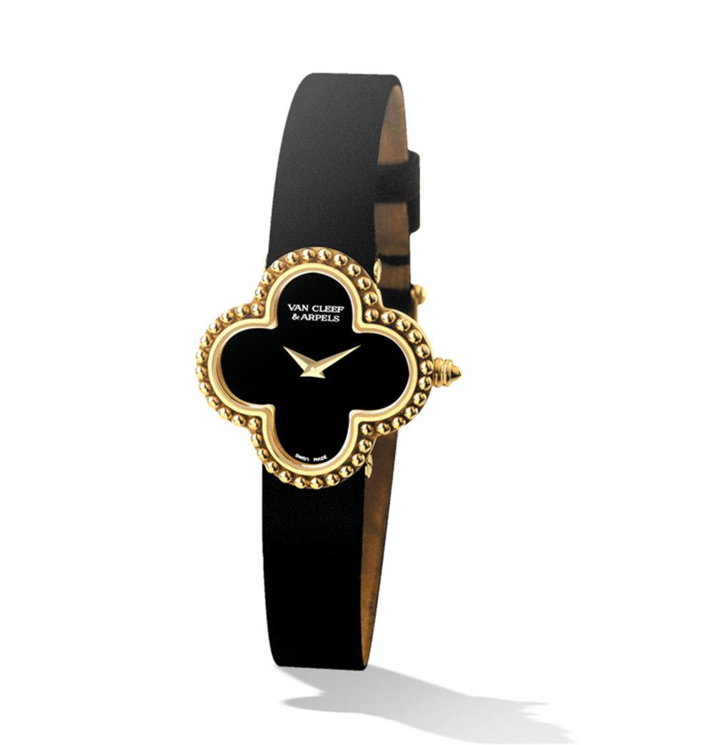 4.Alhambra Watch, Small Model by Van Cleef & Arpels $8,950, vancleefarpels.com
