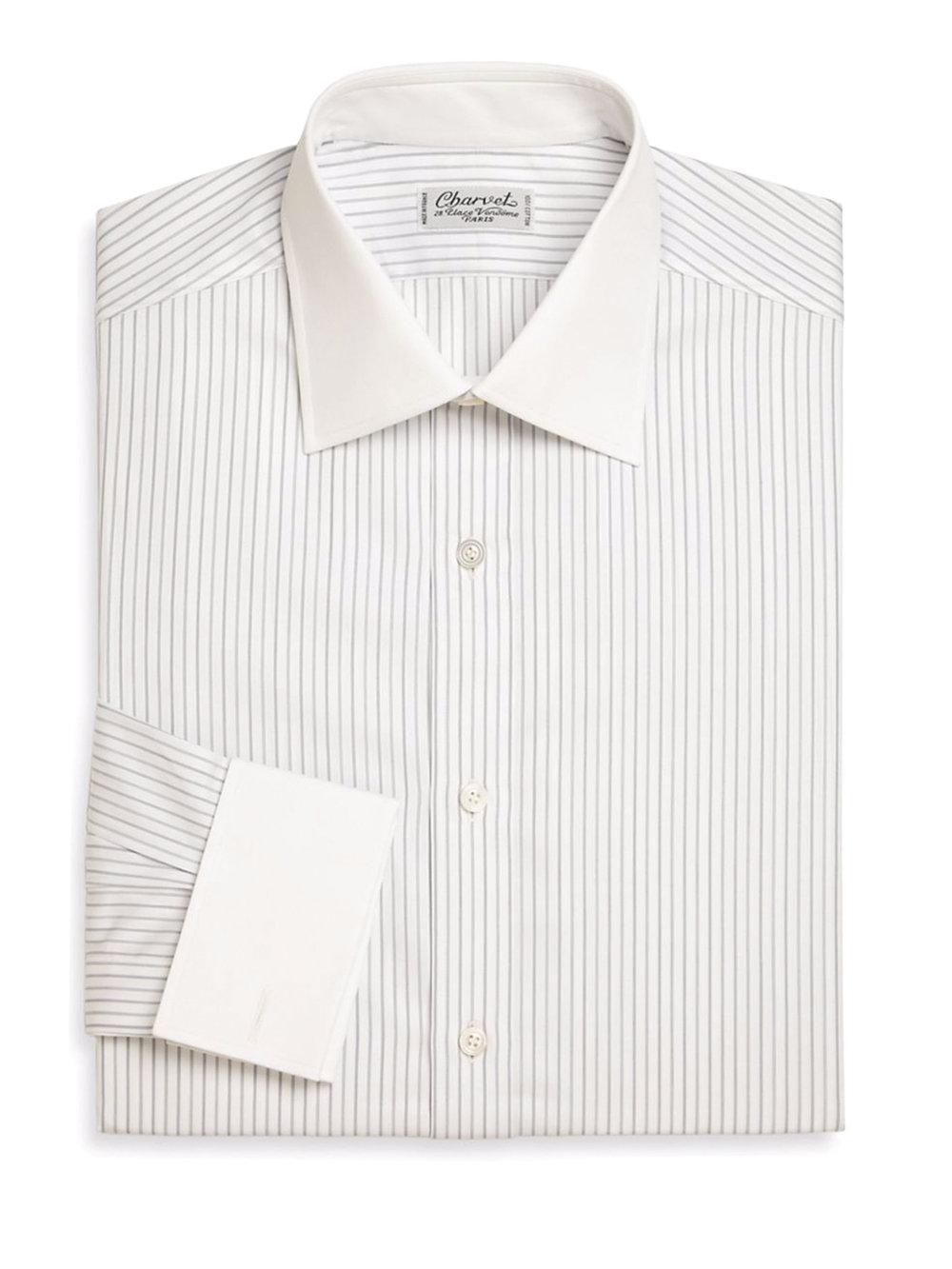 7.Charvet 襯衫 $865,  saksfifthavenue.com