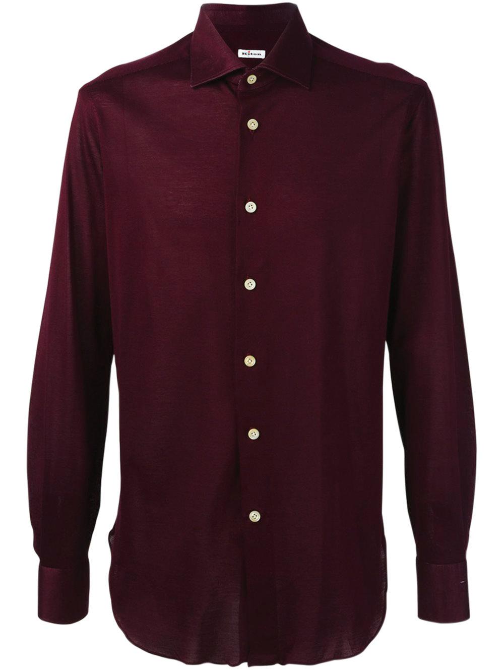 4.Kiton 襯衫 $620,  farfetch.ca