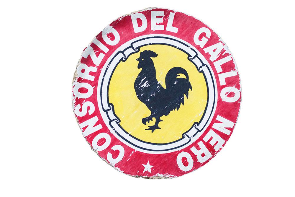 基安蒂葡萄酒的「黑公雞」標誌是目前最廣為人知的意大利葡萄酒品牌之一。