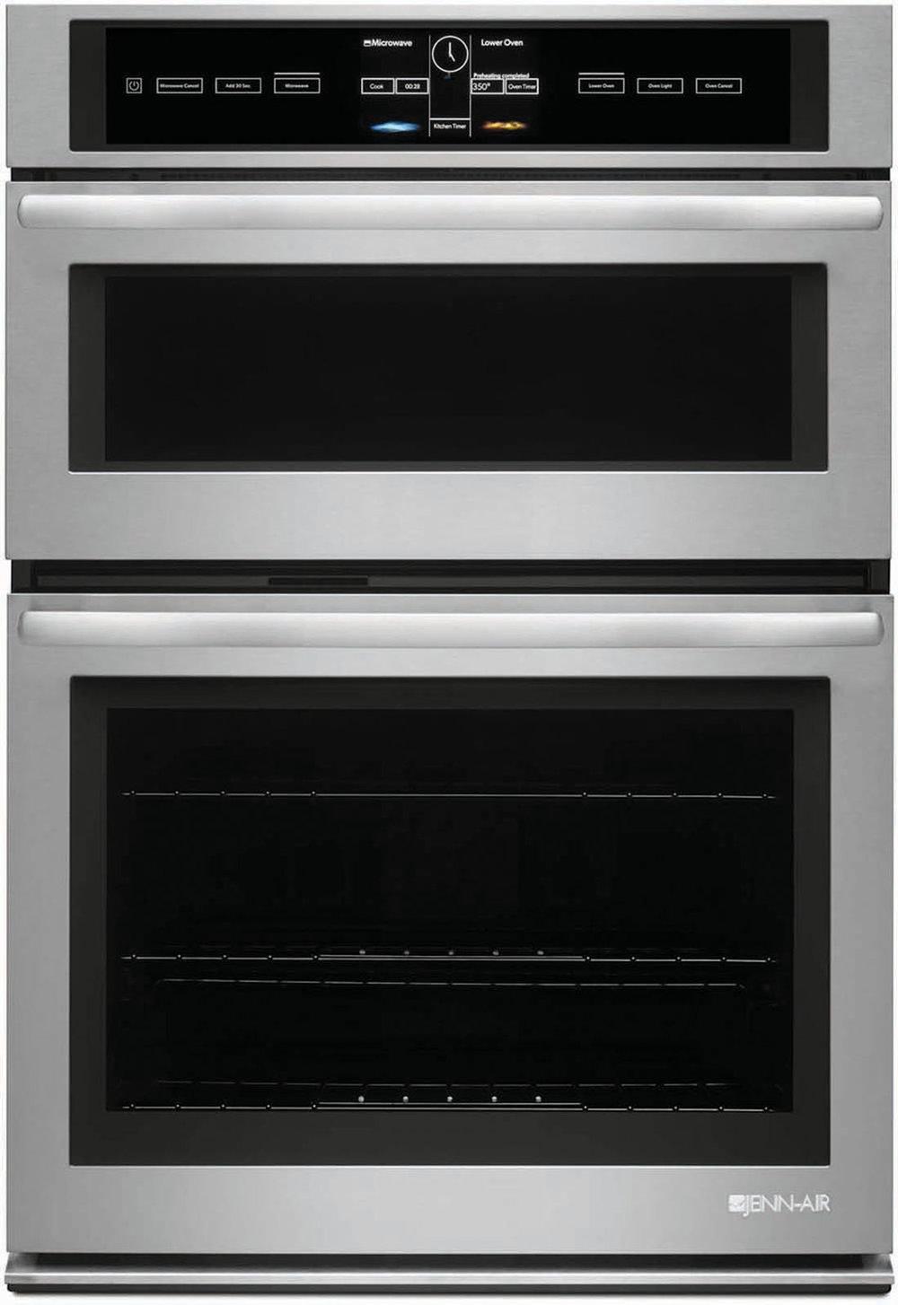 嵌入式微波爐、雙風扇電烤箱 At Trail Appliances, (604) 278-6133, jennairblack.ca
