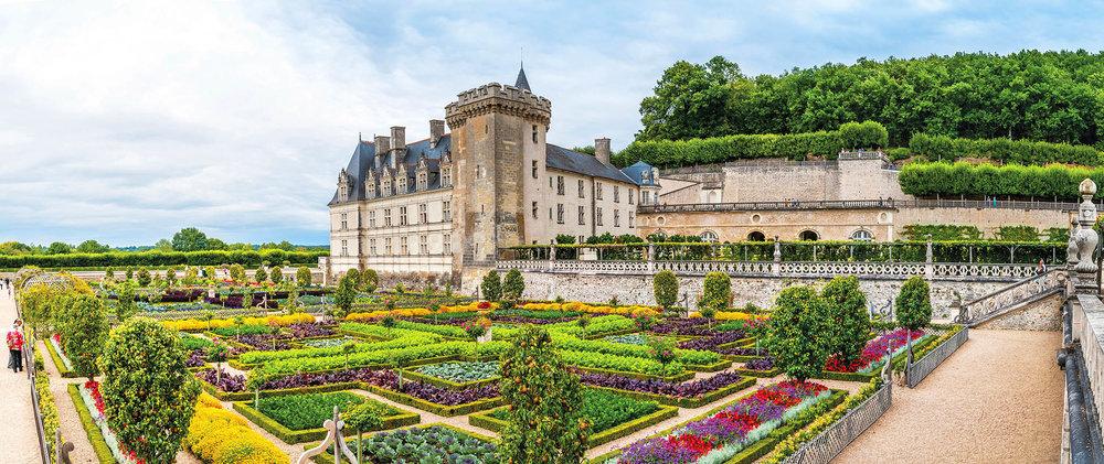 維朗德麗花園城堡是文藝復興時期修建於盧瓦爾河谷的最後一座著名城堡,曾屬於國王的兄弟Joseph Bonaparte。Kiev.Victor / shutterstock.com