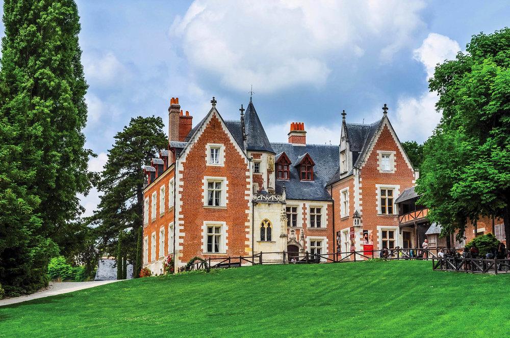 曾有一條通道將克洛呂斯城堡與安博瓦茲鎮相連,佛朗西斯一世可以由此去訪問藝術大師達芬奇。s74 / shutterstock.com