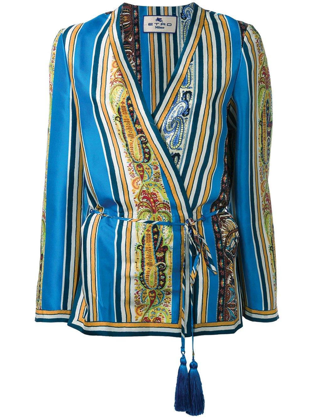 Kimono Blouse by Etro $2,327 艾特羅襯衣