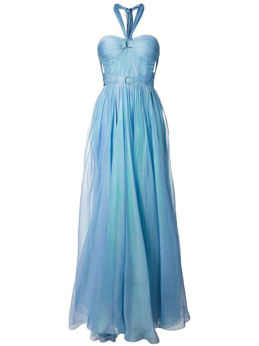 Halterneck Strapless Gown by Maria Lucia Hohan $2,674 露背抹胸晚禮服