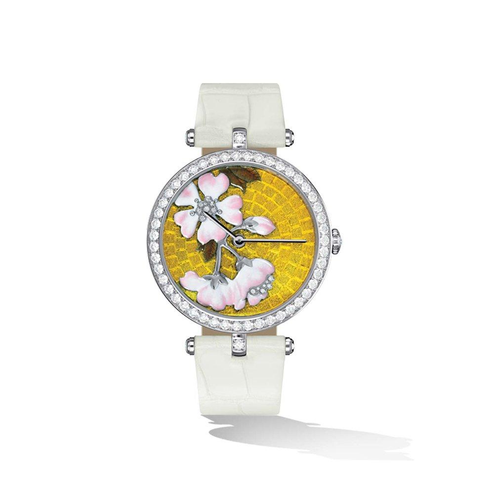 Lady Arpels Palais de la Chance Fleurs de Cerisier Watch by Van Cleef & Arpels Price upon request 梵克雅寶腕錶
