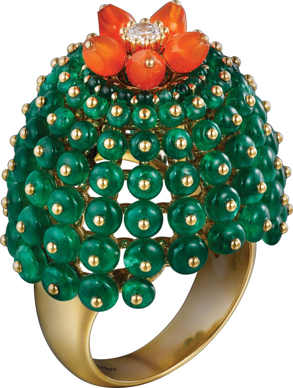 Cactus de Cartier Ring by Cartier Price upon request 卡地亞仙人掌戒指