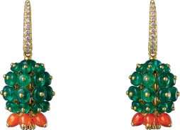 Cactus de Cartier Earrings by Cartier Price upon request 卡地亞仙人掌耳環