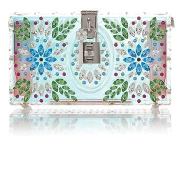 Translucent Shoulder Bag by Dolce & Gabbana US$4,295 杜嘉班納半透明肩包