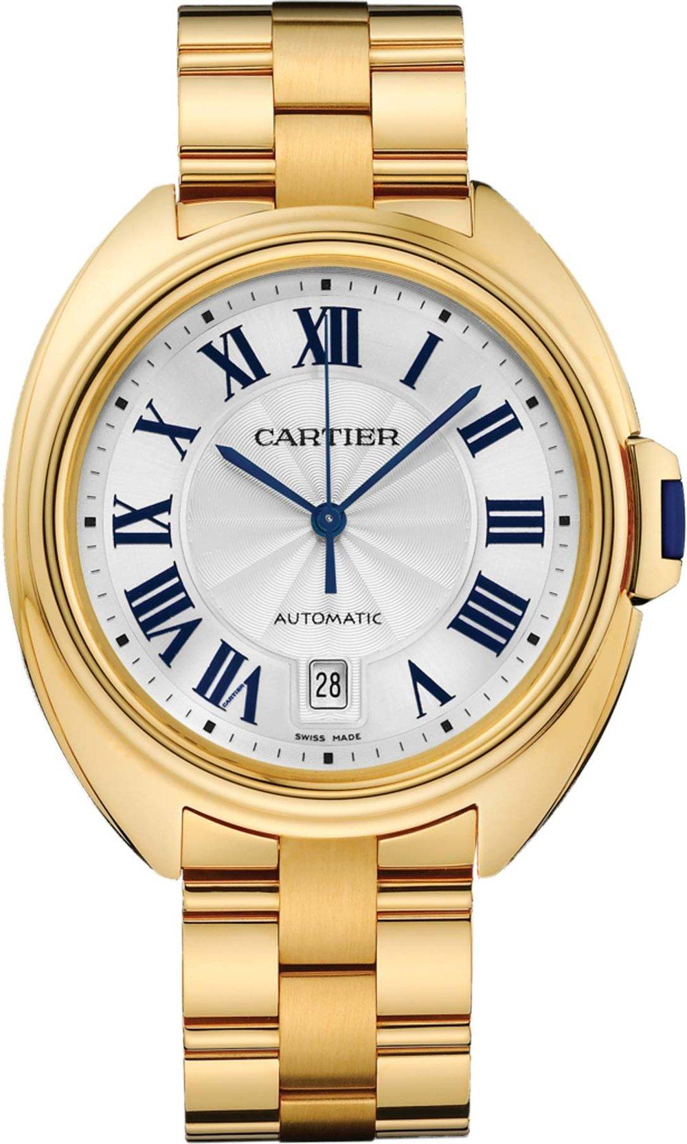 Clé de Cartier Watch by Cartier Price upon request 卡地亞腕錶