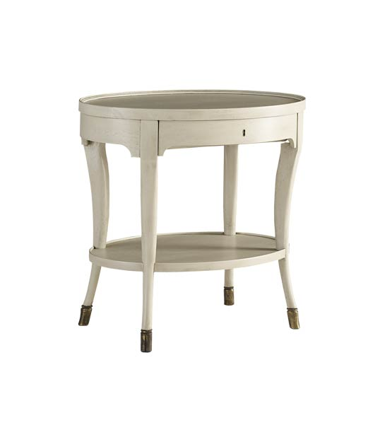Baker Furniture Louis XIV Oval Side Table, Starting at $2,280