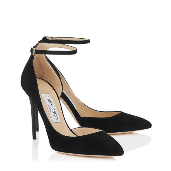周仰傑麂皮高跟鞋http://us.jimmychoo.com/en/collections/womens-collections/--iconic-pumps/lucy-100/black-suede-pointy-toe-pumps-LUCY100SUE010003.html?cgid=collection-iconicpumps#start=1
