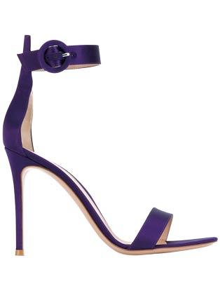 絲緞高跟鞋