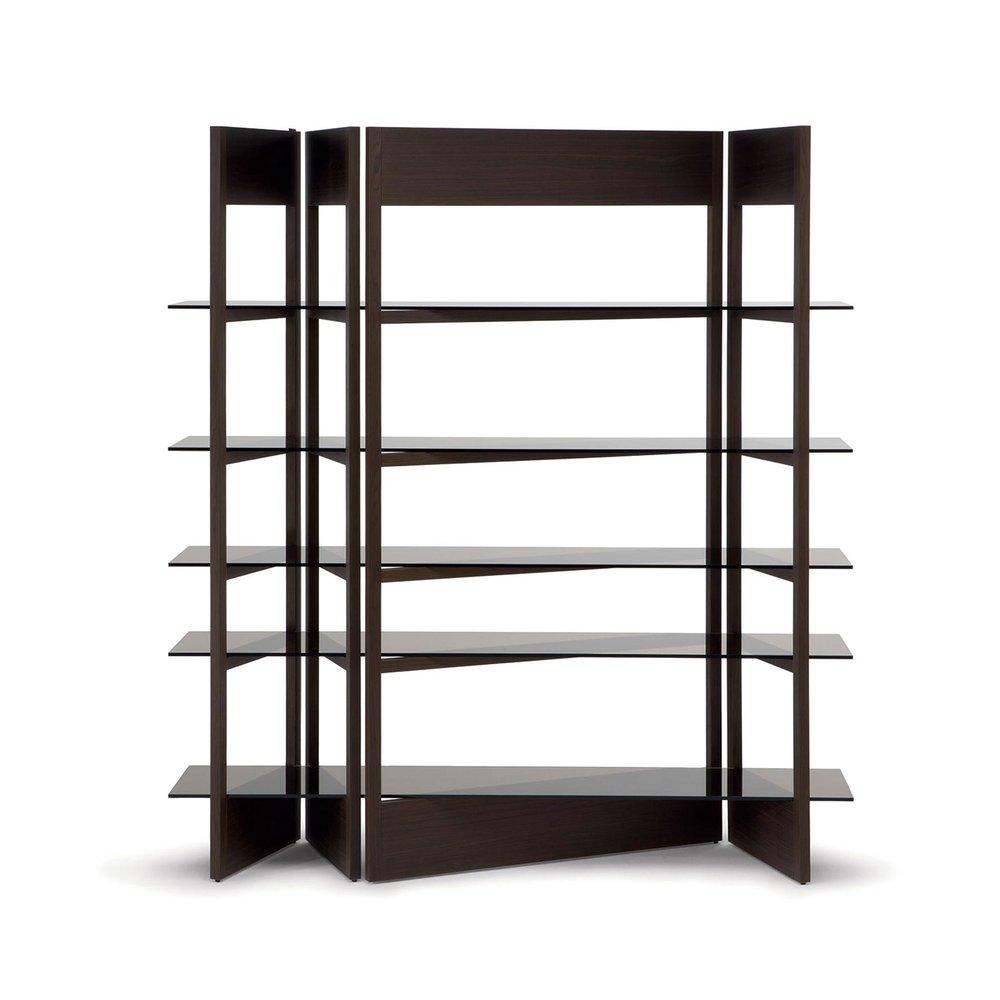 Natuzzi Plissé Wall System & Bookcase