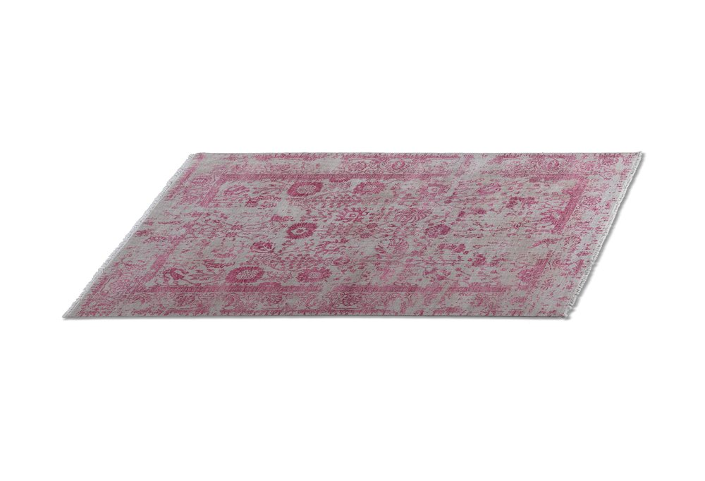 Pacific Rug Pink & Grey Transitional Rug 5'x 8', $2,900