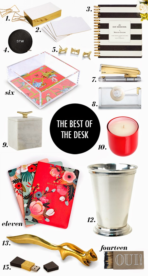 cute office accessories, good looking office accessories, fun desk accessories