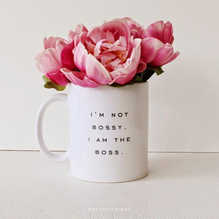 I'm not bossy, I'm the boss mug