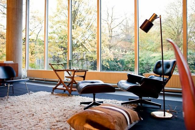 eames lounge, eames recliner, herman miller