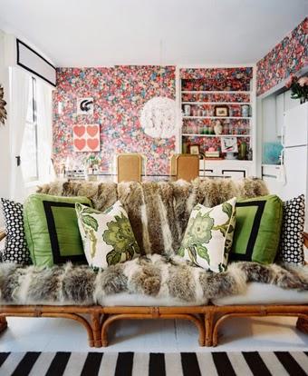 Anna Burke Lonny Magazine, Anna Burke apartment tour
