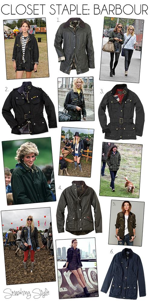 women's barbour jacket, kate middleton barbour, princess diana barbour, festival barbour