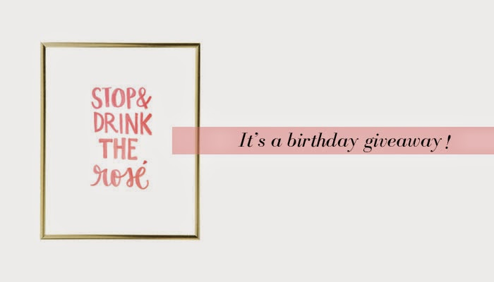 Stop & Drink the Rose print, Stop & Drink the Rose giveaway, design darling, mackenzie horn, stop and drink the rose