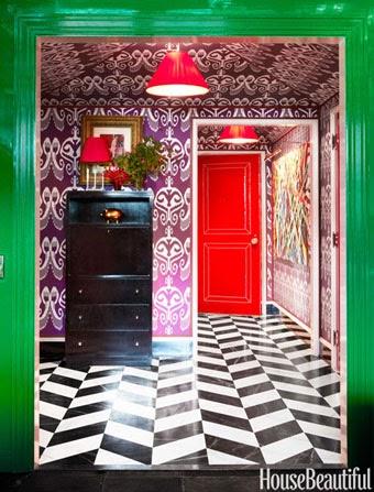 Miles Redd House Beautiful November 2014, Miles Redd Daring by Design