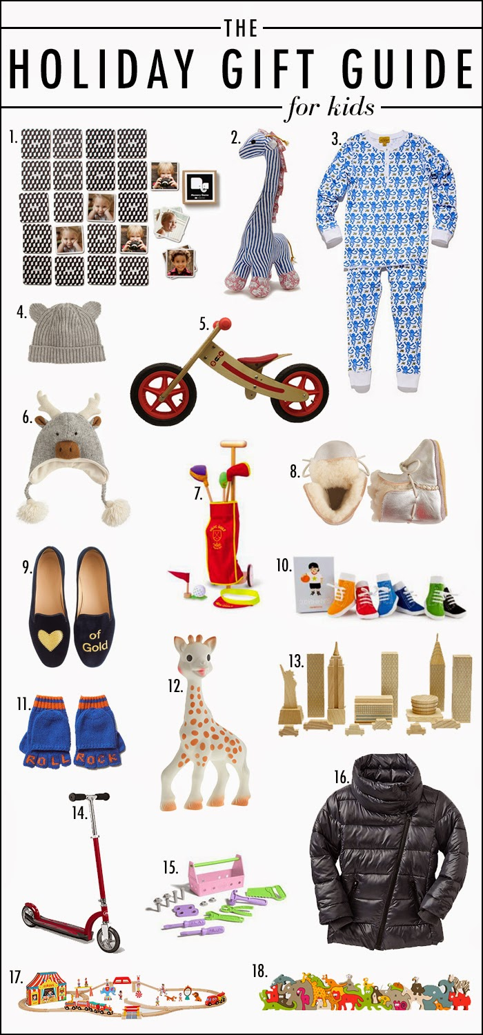 Holiday Gift Guide for kids 2014