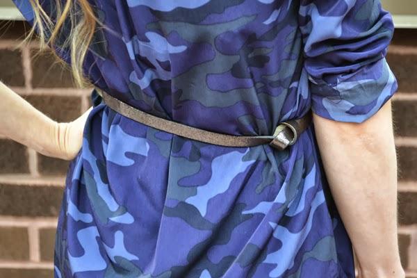 gap camo dress