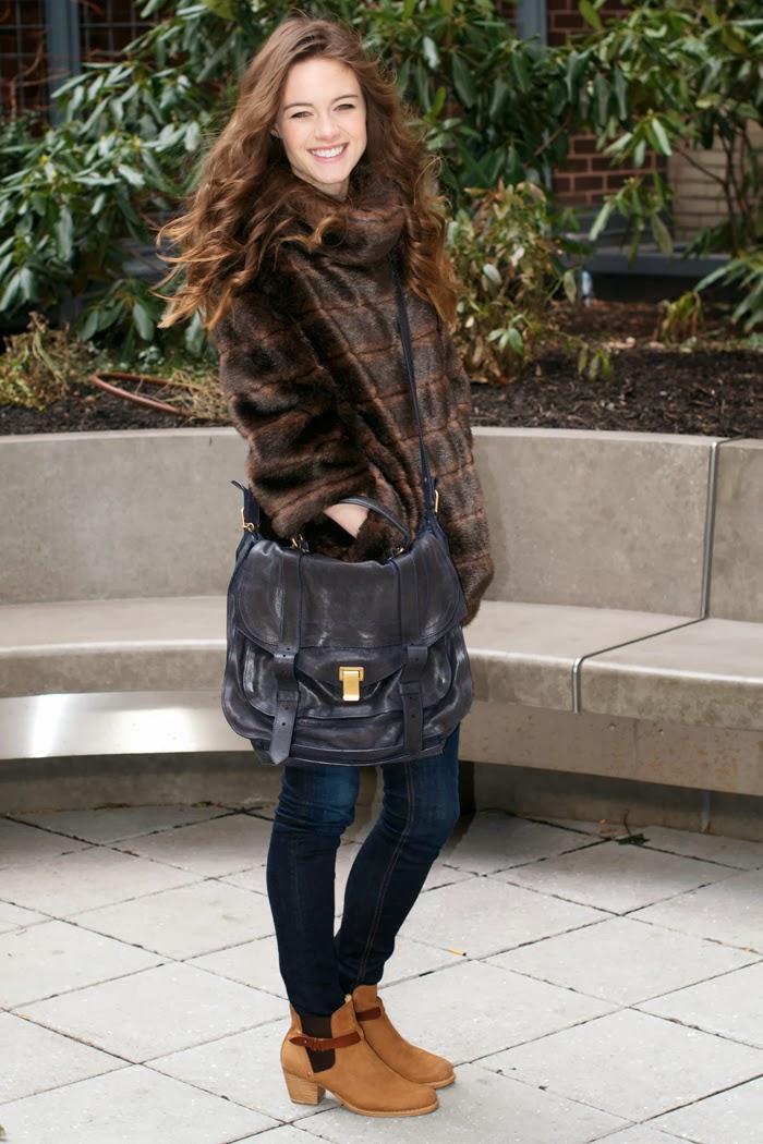 Kate Spade Fur Sweatshirt, Xo smash, Smashing Style