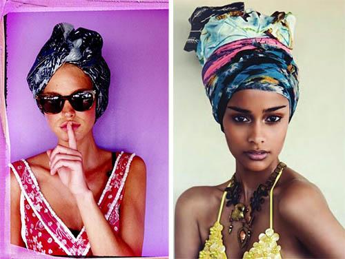 beach turban, turban style