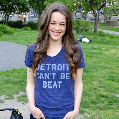detroit can't be beat shirt