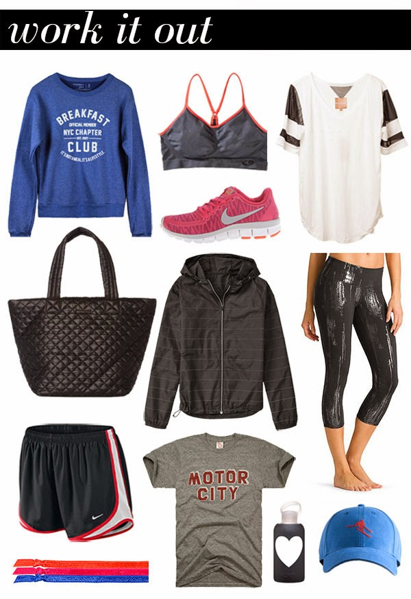 cool exercise clothes for women