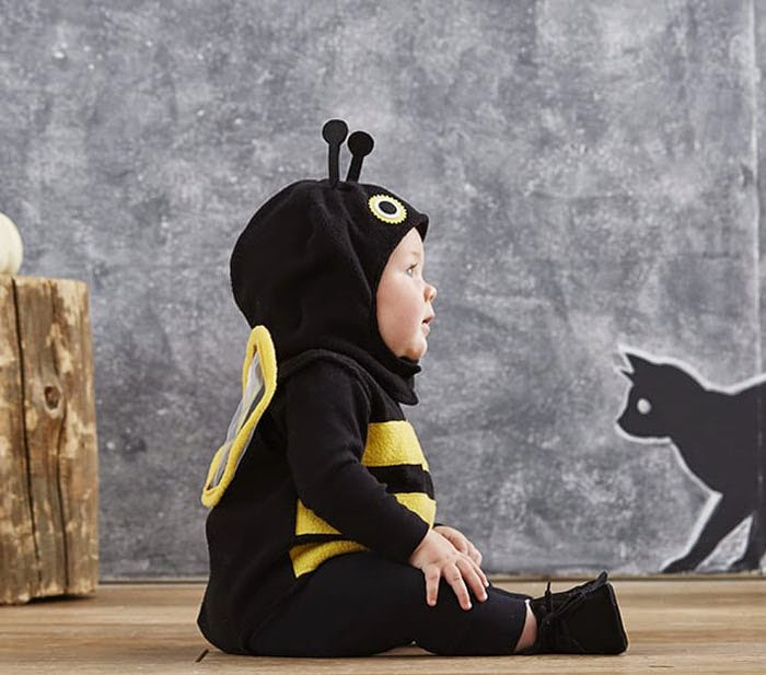 pottery barn bumble bee halloween costume for kids