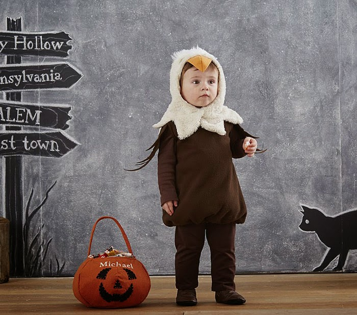 pottery barn eagle costume for kids