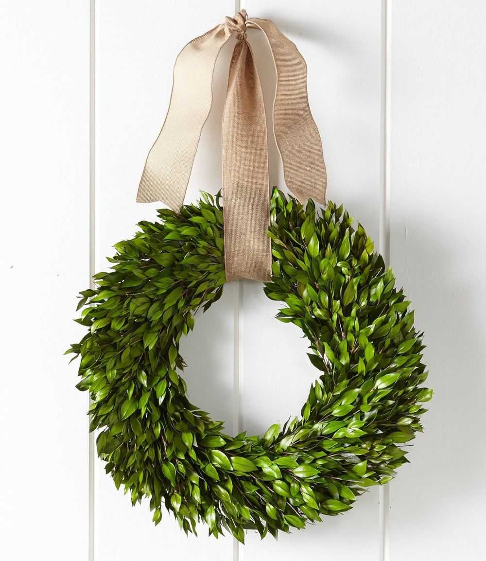 L.L. Bean myrtle wreath