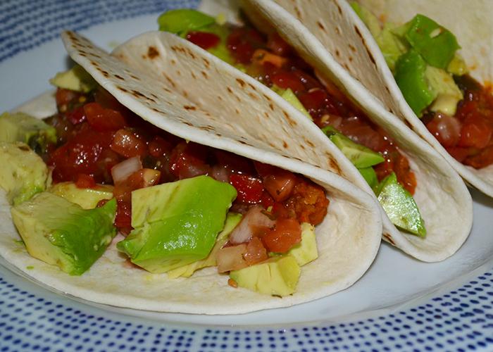 red lentil tacos