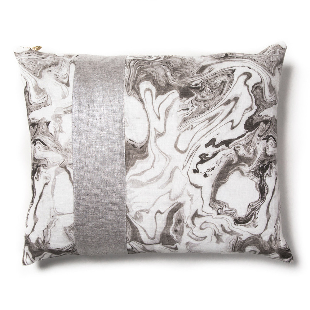 Rebecca Atwood Marble Patch Pillow