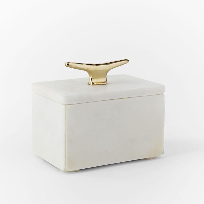 West Elm Marble Box
