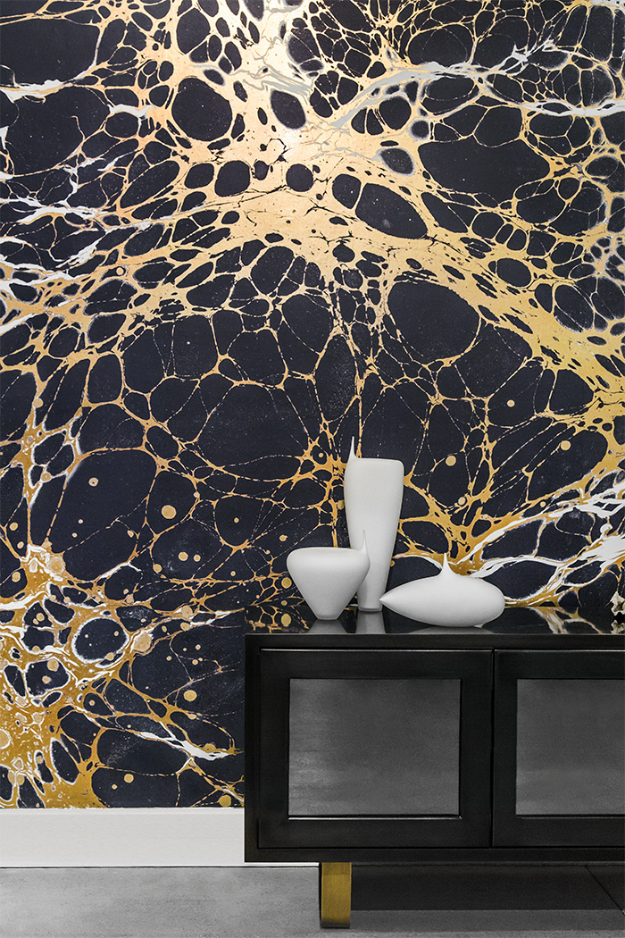 Marble Gold Ashley Manfred Design